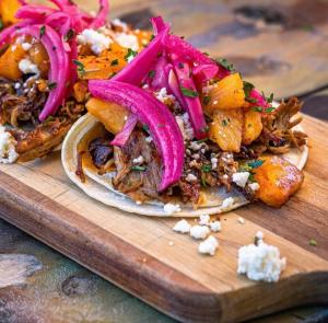 Korean Pork Tacos